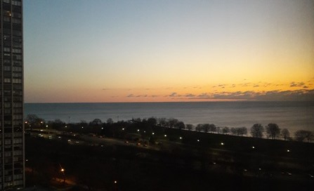 Lake Shore Drive sunrise